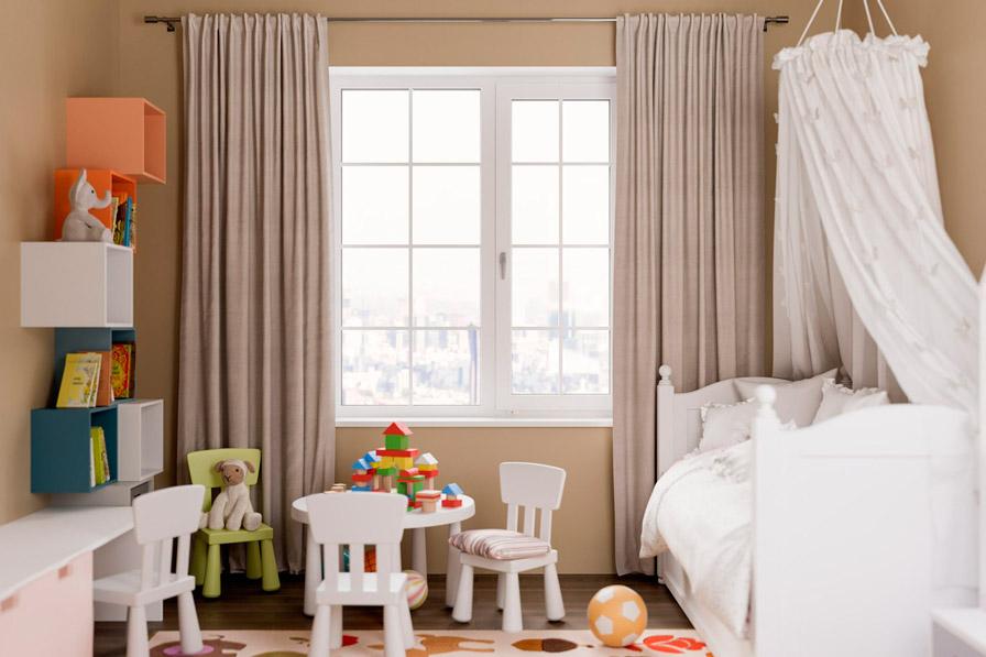 безопасное окно для детской