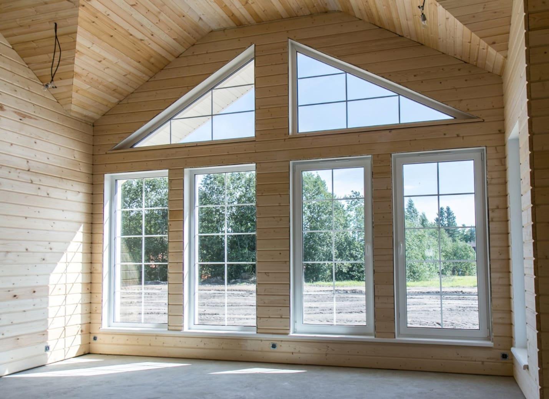 панорамные окна для частного дома